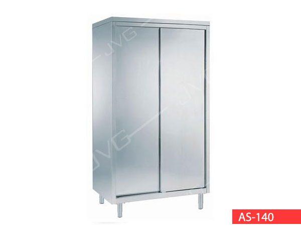 Armadio stoviglie con porte scorrevoli stainless steel cupboard with sliding doorscod asdim - Armadio con porte scorrevoli ...