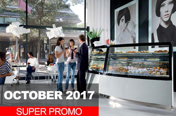 OCTOBER 2017 SUPER PROMO VETRINE REFRIGERATE GELATO PASTICCERIA BAR
